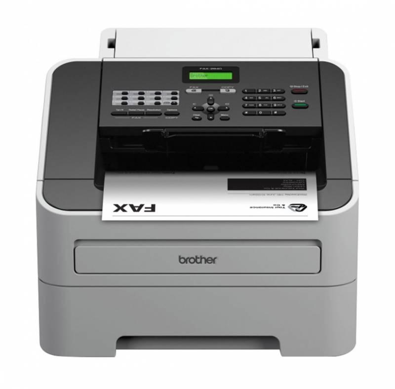 Billede af Telefax Brother FAX-2840 Laserfax