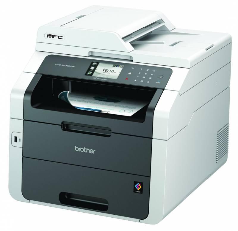 Billede af Alt-i-én Brother MFC-9330CDW m/fax, Wi-Fi og duplexprint