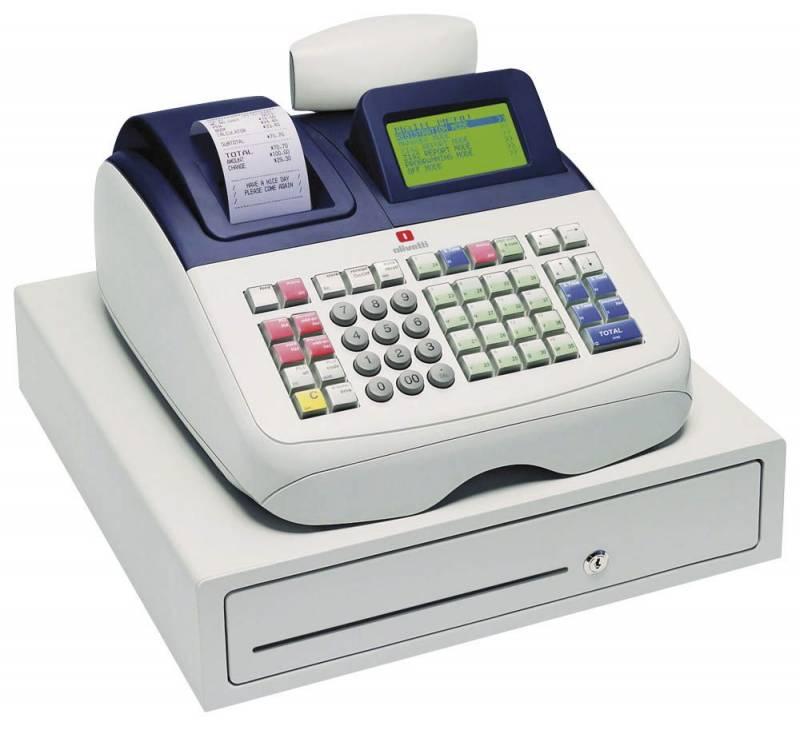 Kasseapparat Olivetti ECR 8200s