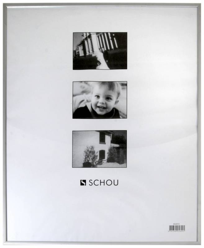Image of   Ramme aluminium/plexi. 21x30cm
