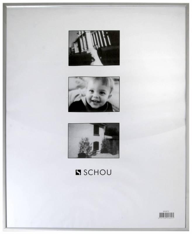 Billede af Ramme aluminium/plexi. 21x30cm