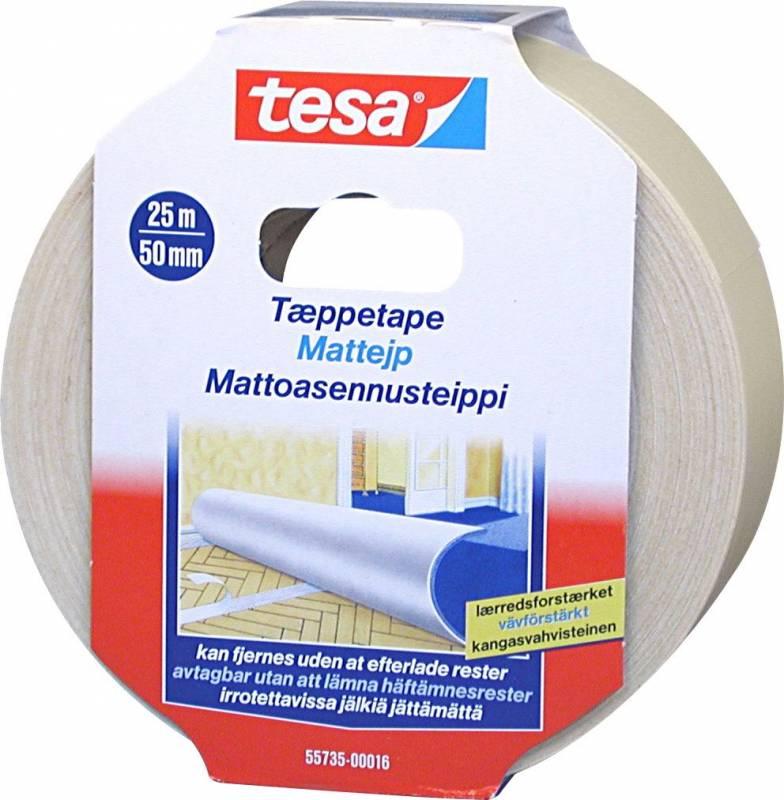 Image of   Tæppetape tesa 55735 aftagelig 48mmx25m