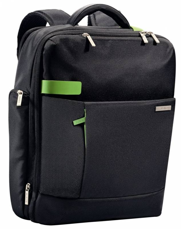 "Image of   Computerrygsæk Smart Traveller 15,6"" Leitz sort"