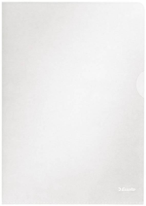 Billede af Plastomslag A4 Esselte 0,115mm klar præg 100stk/pak