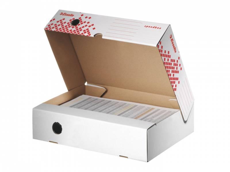 Image of   Arkivæske Esselte Speedbox horisontal 80mm