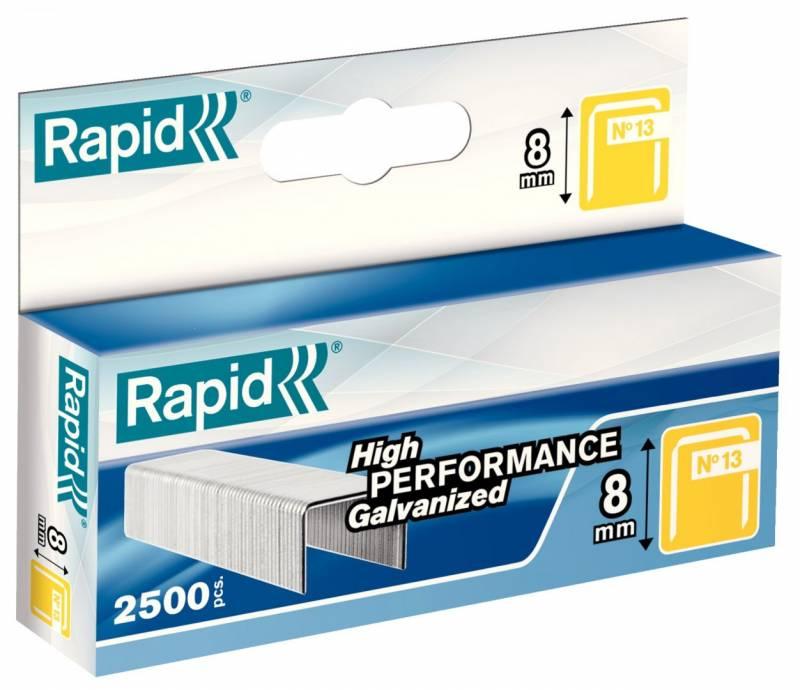 Image of   Hæfteklamme Rapid Tools 13/8 galvaniseret 2500stk/æsk