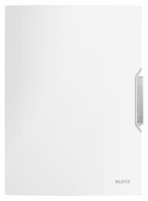Billede af Elastikmappe PP Leitz Style A4 3-klap hvid