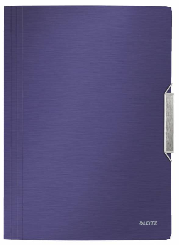 Image of   Elastikmappe PP Leitz Style A4 3-klap blå