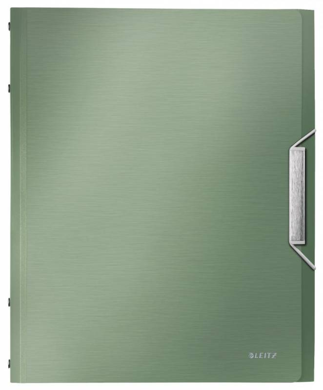 Image of   Sorteringsmappe Leitz Style PP 6-delt grøn