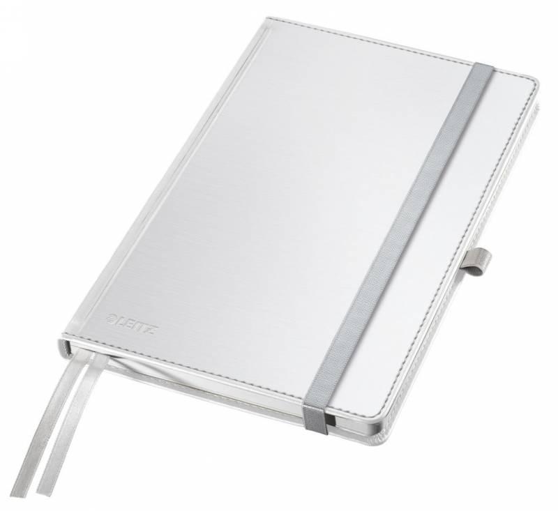 Billede af Notesblok Style A5 Hard linieret hvid 80ark