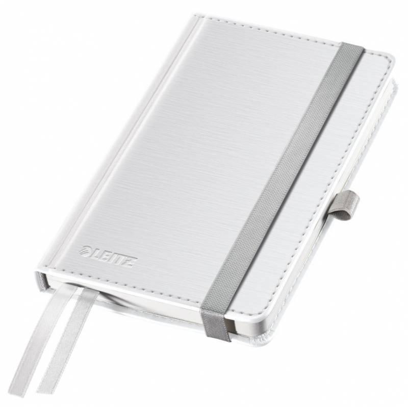 Billede af Notesblok Style A6 Hard linieret hvid 80ark