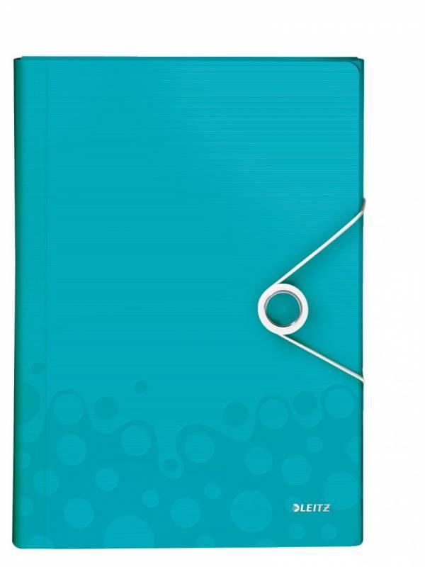 Image of   Projektmappe Leitz WOW PP isblå