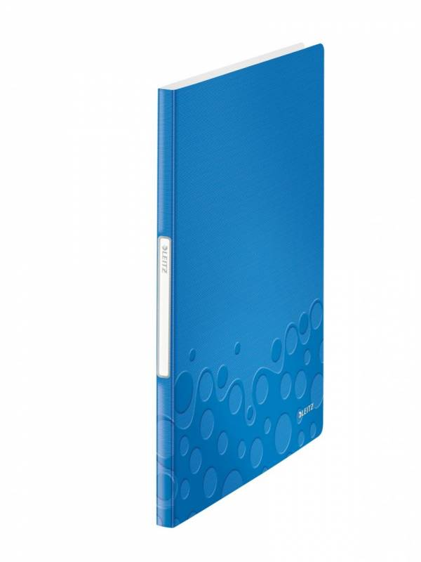 Billede af Displaybog PP Leitz WOW PP 20 lommer blå