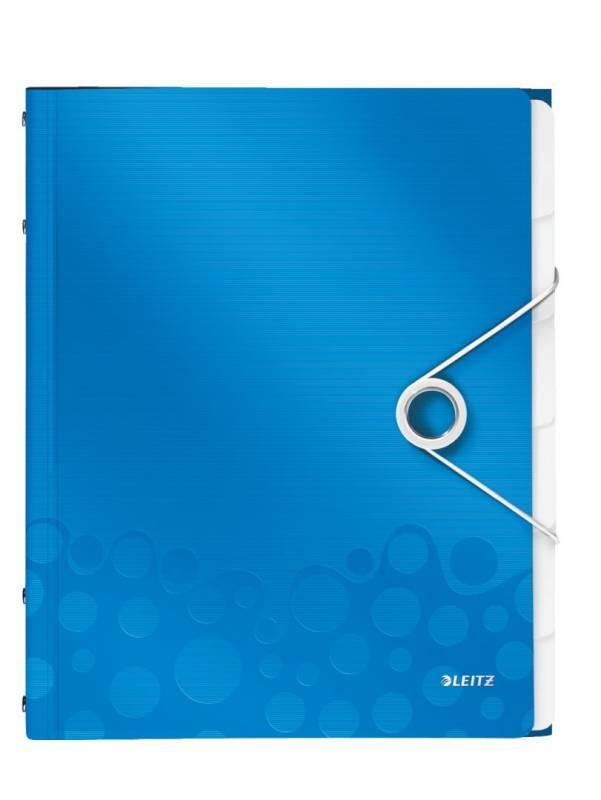 Image of   Sorteringsmappe Leitz WOW PP 6-delt blå