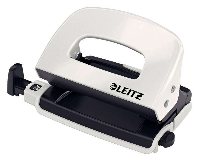 Billede af Hulapparat Leitz Mini WOW 2-huls 10ark hvid