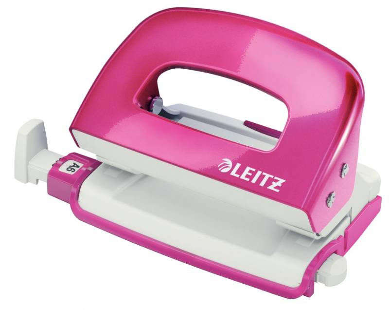 Billede af Hulapparat Leitz Mini WOW 2-huls 10ark pink