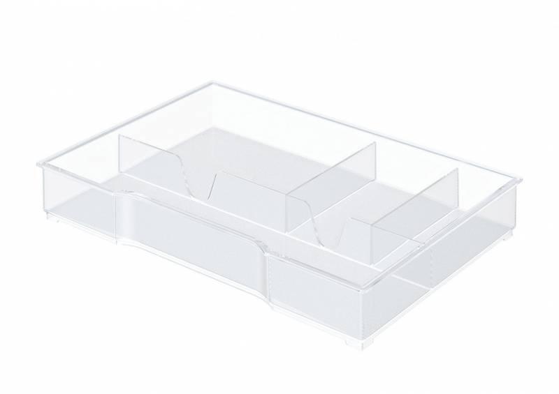 Image of   Skuffeindsats transparent t/Plus/WOW skuffekabinet