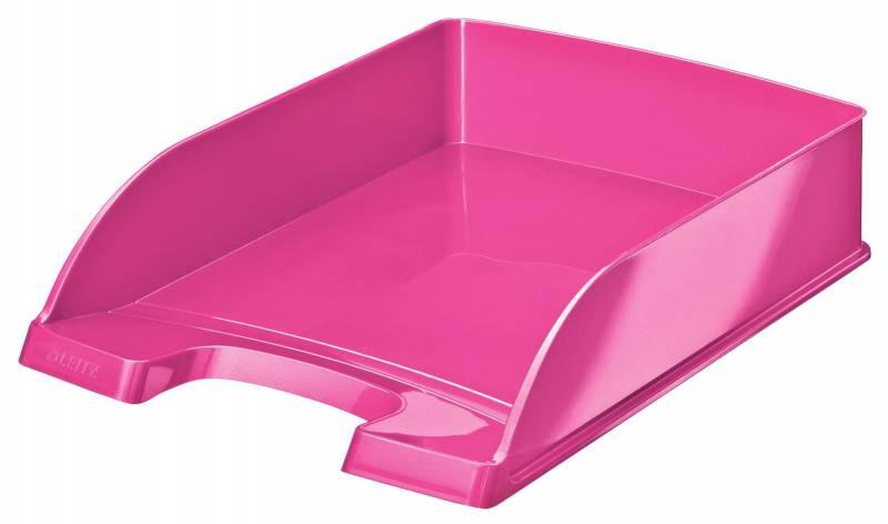 Image of   Brevbakker Leitz Plus Standard A4 højde 60mm WOW pink metallic