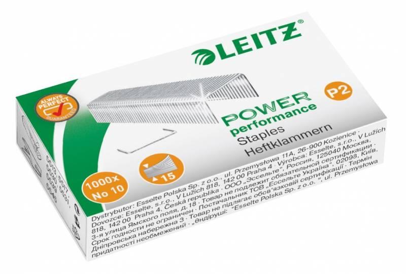 Image of   Hæfteklamme Leitz nr. 10 1000stk/pak