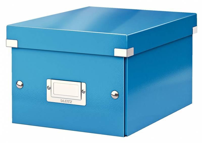 Billede af Arkivboks Leitz Click&Store WOW blå small