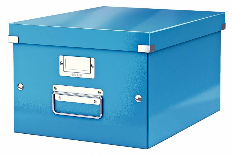 Billede af Arkivboks Leitz Click&Store WOW blå medium