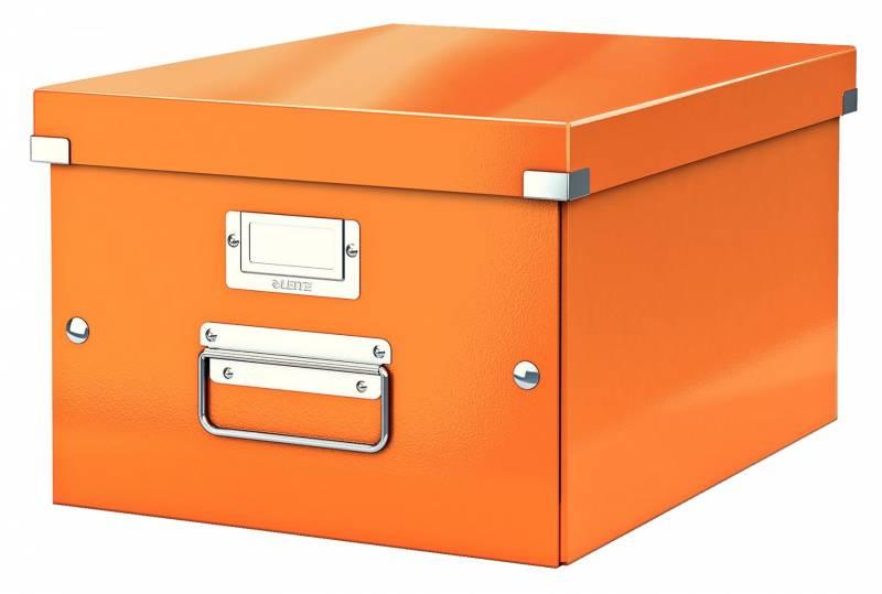 Billede af Arkivboks Leitz Click&Store WOW orange medium