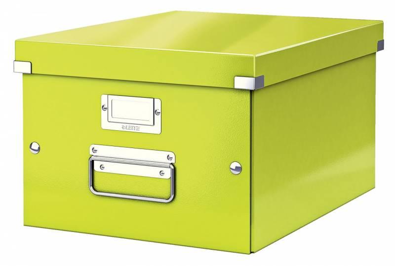 Image of   Arkivboks Leitz Click&Store WOW grøn medium