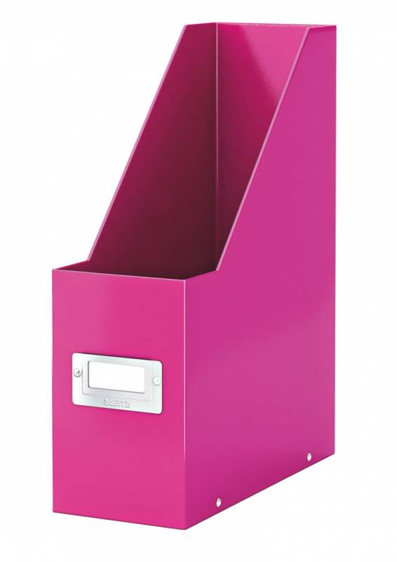 Billede af Tidsskriftsamler Click&Store Leitz WOW pink