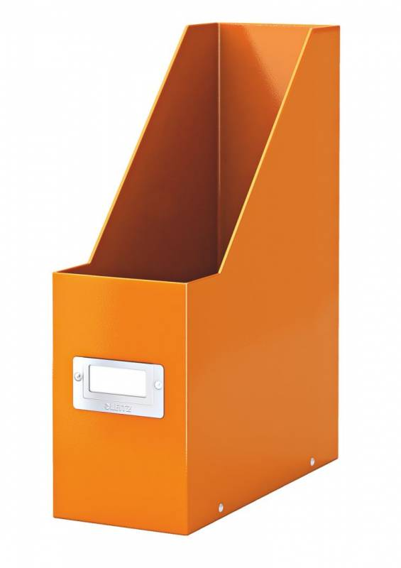 Image of   Tidsskriftsamler Click&Store Leitz WOW orange