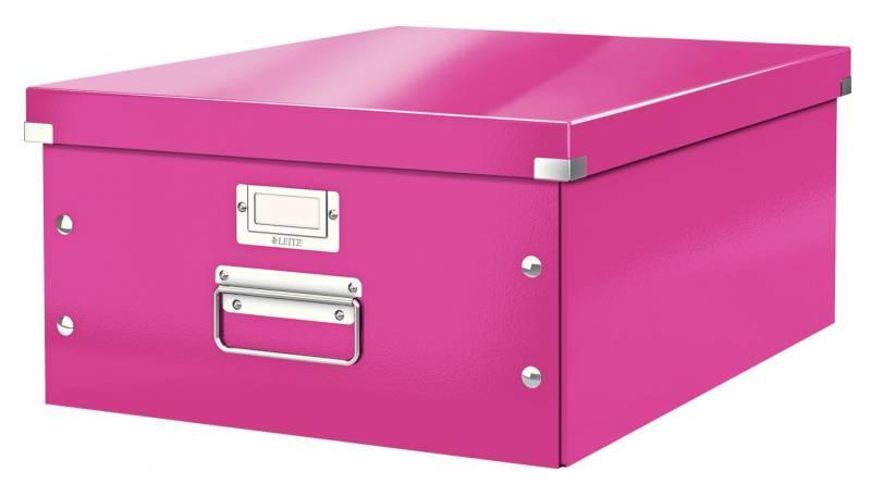 Billede af Arkivboks Leitz Click&Store WOW pink large