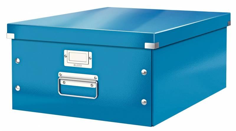 Billede af Arkivboks Leitz Click&Store WOW blå large