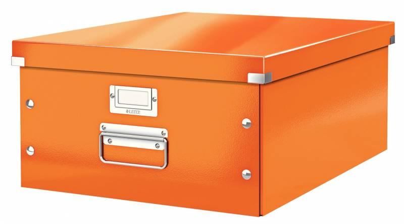 Image of   Arkivboks Leitz Click&Store WOW orange large