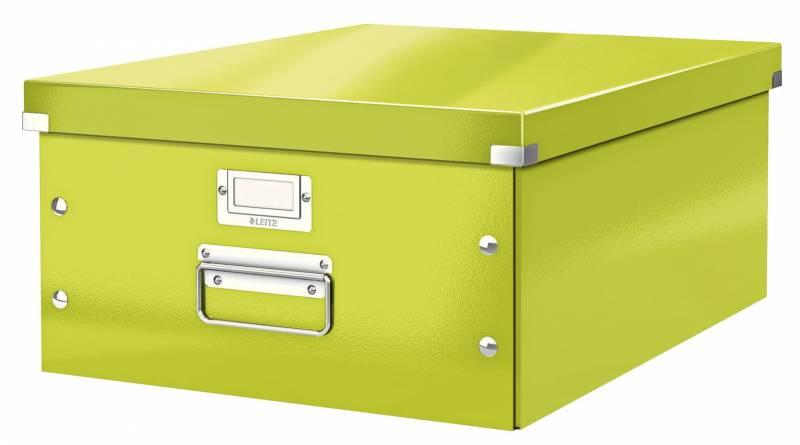 Billede af Arkivboks Leitz Click&Store WOW grøn large