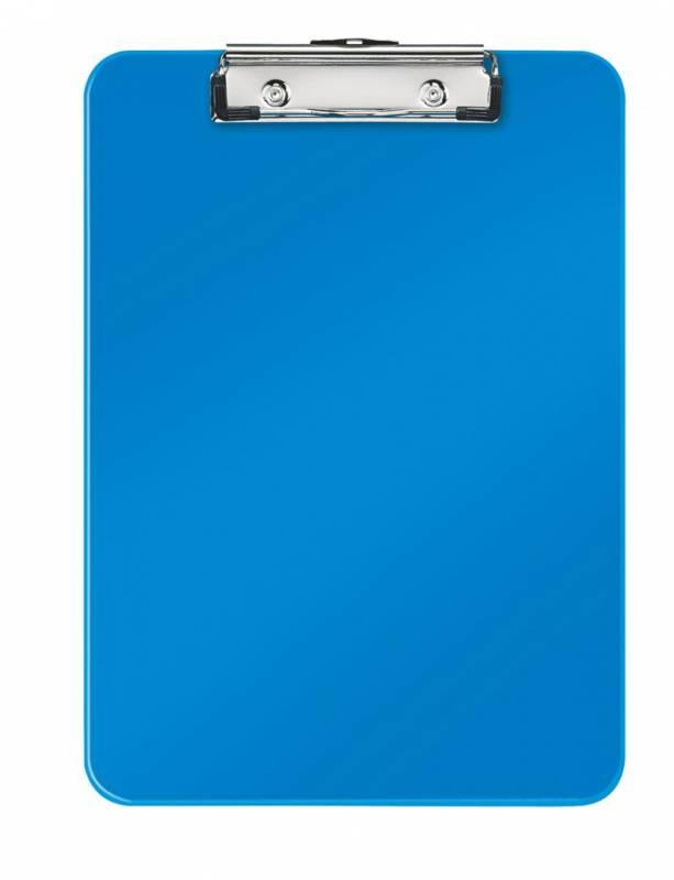 Image of   Clipboard Leitz WOW u/forside A4 blå