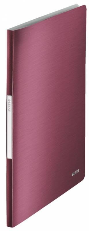 Billede af Displaybog Leitz Style PP 40 lommer rød
