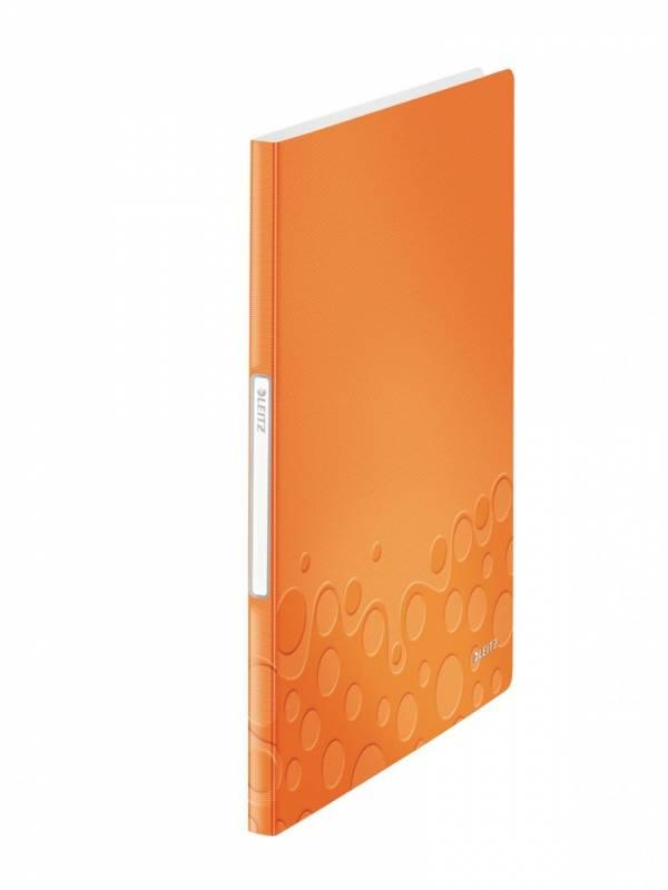 Image of   Displaybog Leitz WOW PP 20 lommer orange