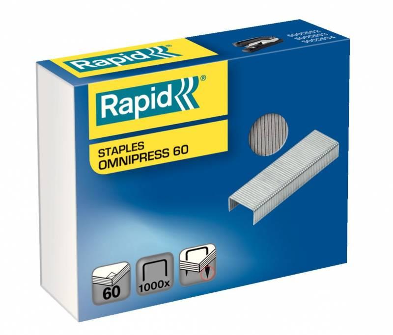 Billede af Hæfteklamme Rapid Omnipress 60 1000stk/pak