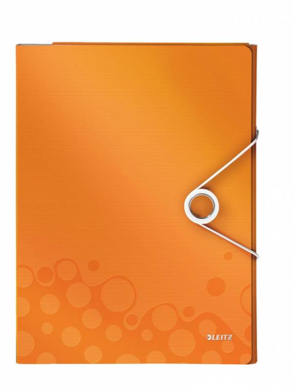 Image of   Konferencemappe Leitz WOW PP orange