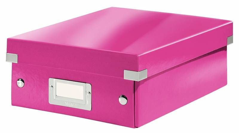 Image of   Fiberpapkartotek Click&Store WOW pink small