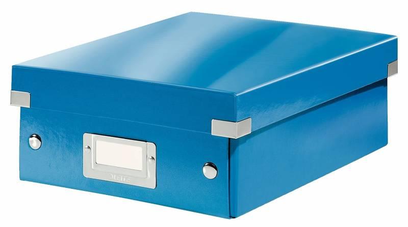Image of   Fiberpapkartotek Click&Store WOW blå small