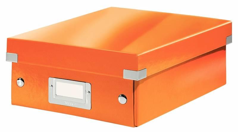 Image of   Fiberpapkartotek Click&Store WOW orange small