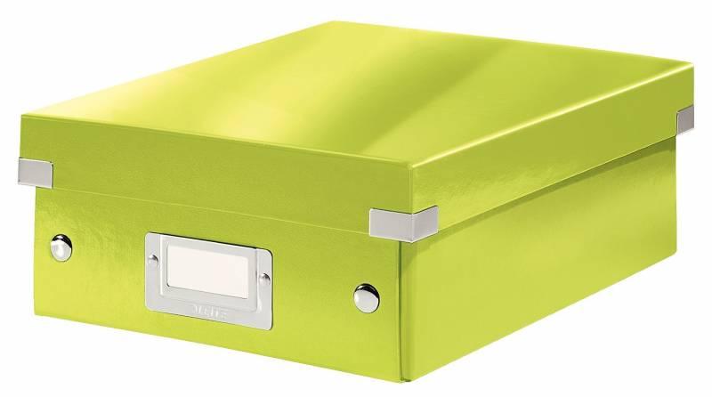 Image of   Fiberpapkartotek Click&Store WOW grøn small