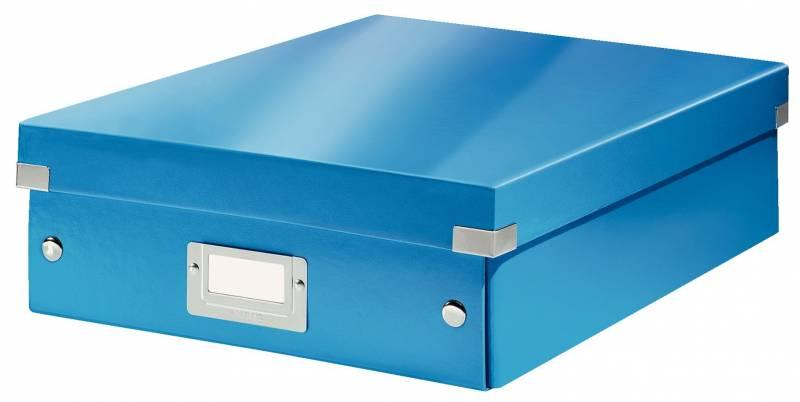 Image of   Fiberpapkartotek Click&Store WOW blå medium