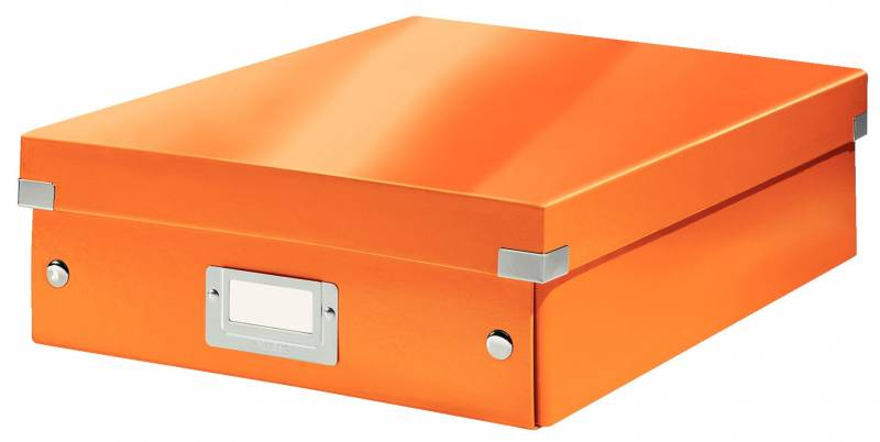 Image of   Fiberpapkartotek Click&Store WOW orange medium