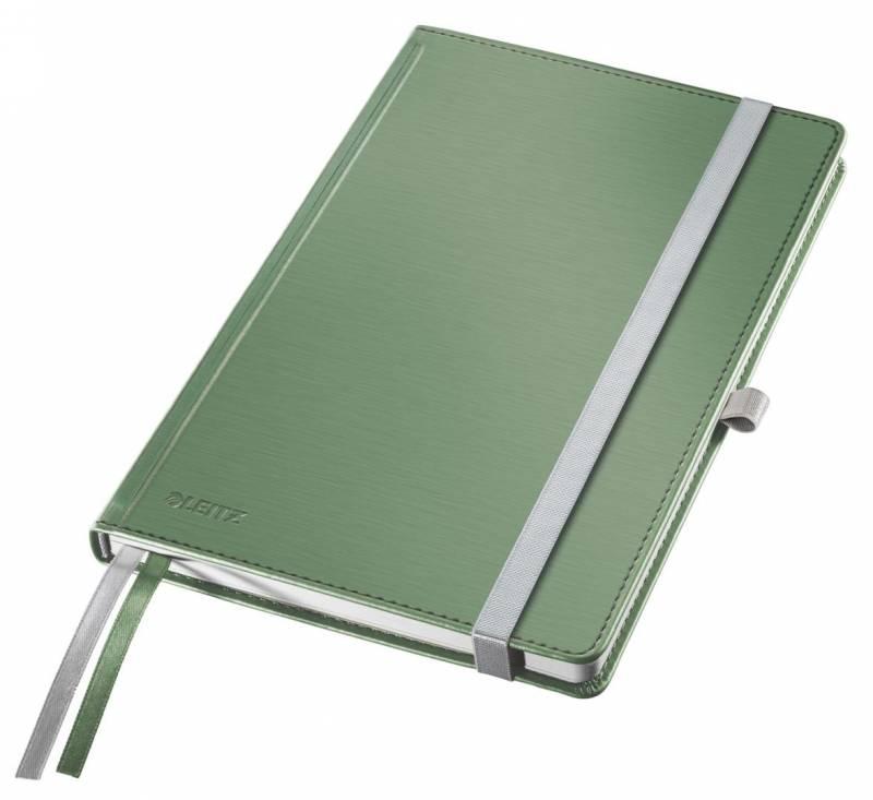 Billede af Notesblok Leitz Style A5 Hard linj. 100g 80 blade grøn