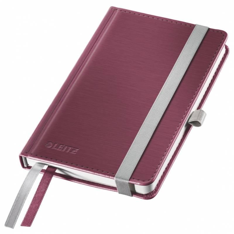 Billede af Notesblok Leitz Style A6 Hard linj. 100g 80 blade rød
