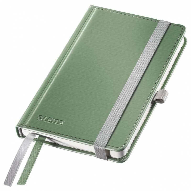 Billede af Notesblok Leitz Style A6 Hard linj. 100g 80 blade grøn