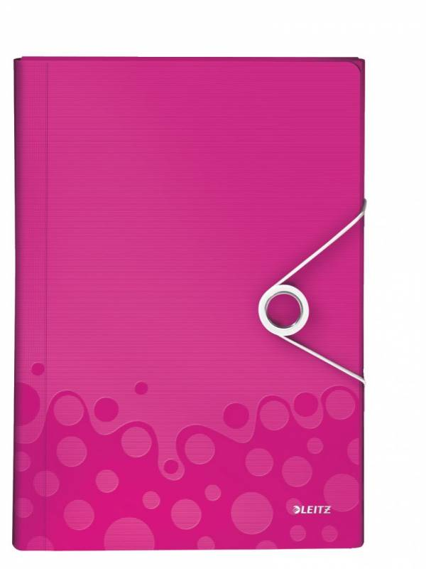 Image of   Projektmappe Leitz WOW PP pink