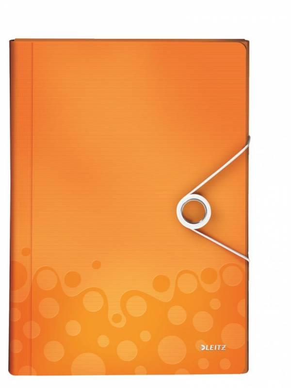 Image of   Projektmappe Leitz WOW PP orange