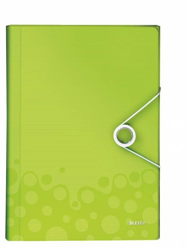 Image of   Projektmappe Leitz WOW PP grøn